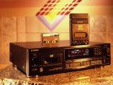 Sony's Dat Tape Deck  Walkman Portable Cassette Player and Blank Dat Cassette
