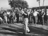 Pres Dwight D Eisenhower Playing Golf with George E Allen