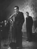 Richard M Nixon Conceding Defeat at a Press Conference
