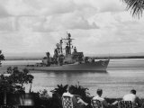 US Armed Forcese Destroyer Sullivan in Guantanamo Bay at the Time of the Cuban Missile Crisis