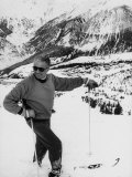 World Champion Emile Allais Ski Instructor at New Ski Resort