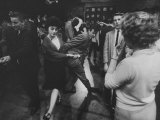 "Couples Dancing on the ""American Bandstand"""