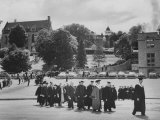 Academic Procession During Outdoor Commencement Exercises at St Olaf College