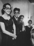 Women Wearing Fancy Eyeglasses Worn at St Luke's Fashion Show