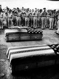 Bodies of Soldiers Killed in Vietnam Arriving in the Us