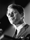 Senator Robert F Kennedy Campaigning in Indiana Presidential Primary