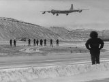 Bomber B-36 Is Coming in from Roswell  New Mexico with Eagerly Awaited Freight