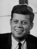 Sen John F Kennedy  Posing for Picture