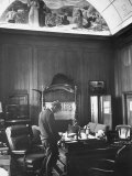 Attorney General Robert F Kennedy Standing at His Desk