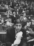 American Chess Champion Robert J Fischer Eating Cotton Candy