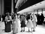Guests at the Opening of Lincoln Center's Philharmonic Hall