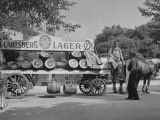 Beer Wagon in the City of Copenhagen