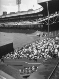 Scene from the Polo Grounds  During the Giant Vs Dodgers Game