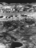 Moon's Surface Photographed from Lunar Orbiter Ii
