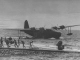 Kawanishi Flying Boat Type II Landing in Water