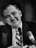 Sen Joseph R McCarthy Smiling During the Army-McCarthy Hearings