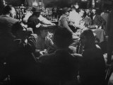 People at Greenwich Village Tavern  Reacting to the Murder of Maxwell Bodenheim