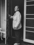 Illinois Democrat Adlai E Stevenson at Home During the Governor&#39;s Conference