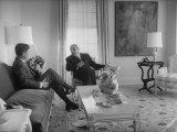 Pres John F Kennedy with Luis Munoz Marin