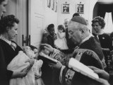 Robert F Kennedy's Baby Being Baptised