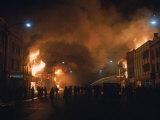 Streets Ablaze from Rioting Following Assassination of Martin Luther King Jr