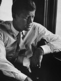 Sen John F Kennedy During His Presidential Campaign