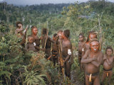 New Guinean Tribespeople