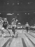 Captain of Cincinnati University Oscar Robertson During Game with St Joseph&#39;s College