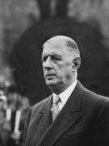 President of France General Charles De Gaulle  During Visit