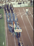 Hungary in Parade at the Summer Olympics