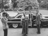 Prime Minister of Ghana  Kwame Nkrumah Arriving at the White House