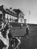 President Dwight D Eisenhower Playing a Game of Golf