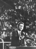 Sen John F Kennedy Speaking at the 1960 Democratic National Convention