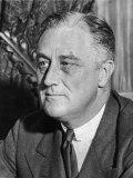 US President Franklin D Roosevelt