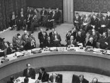 UN Security Council Meeting Re: Suez Crisis