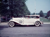 Side View of Classic 1930 Dusenberg Phaeton