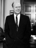 House Minority Leader Sen Gerald R Ford in His Office