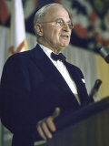 Former Pres Truman Speaking at Democratic Party Conference