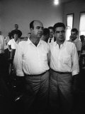 Defendants JW Milam and Roy Bryant at their Trial for the Murder of Black Teenager Emmett Till