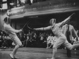 Fencers Competing in the Olympics