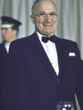 Former Pres Truman at Democratic Party Conference