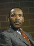 Portrait of Rev Martin Luther King  Jr