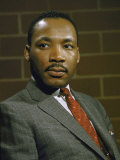 Portrait of Rev Martin Luther King  Jr