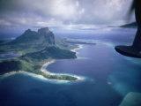 Island of Bora Bora; Part of South Seas Photo Essay