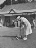 Playing Croquet  at Croquet Club