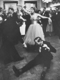 Lady Bernard Docker in Formal Dress  on Floor  Dancing at Fabulous Party Thrown by Her