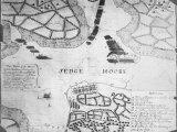 Map of Sedgemoore Showing Monmouth Rebellion of 1685 Aka Pitchfork Rebelllion