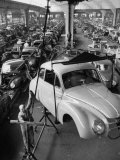 Dkw Auto Works  New 1954 Opels Getting Made