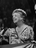 Mrs Eleanor Roosevelt Speaking at the National Democratic Convention