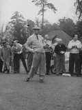 Pres Dwight D Eisenhower  Golfing